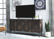 Chasinfield Dark Brown Extra Large TV Stand