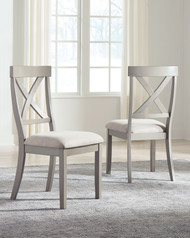 Parellen Gray Dining UPH Side Chair