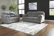 Allmaxx Pewter Sofa & Loveseat