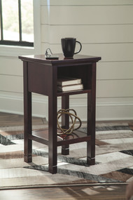 Marnville Reddish Brown Accent Table