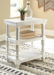 Dannerville Antique White Accent Table