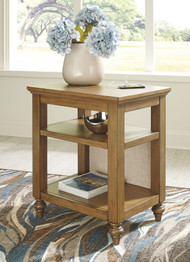 Brickwell Beige/Brown Accent Table