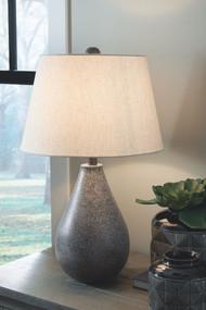 Bateman Patina Metal Table Lamp (2/CN)