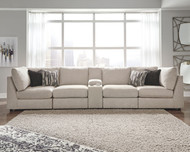 Kellway Bisque 5 Piece Sectional