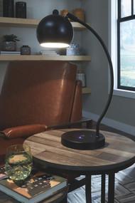 Marinel Black Metal Desk Lamp (1/CN)