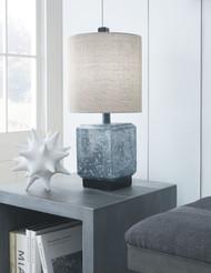 Jamila Gray/Black Poly Table Lamp (1/CN)