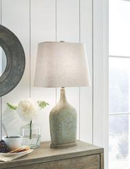 Maribeth Sage Paper Table Lamp (2/CN)