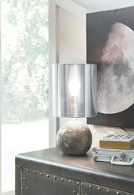 Kadian Gray Poly Table Lamp (1/CN)