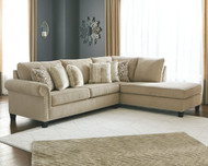 Dovemont Putty 2 Pc. Left Arm Facing Sofa, Right Arm Facing Corner Chaise Sectional