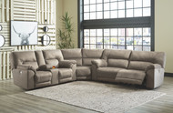 Cavalcade Slate 3 Pc. Power Reclining Sectional