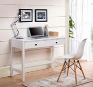 Othello White Home Office Small Desk