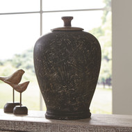 BARRIC Antique Black Jar