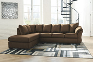 Darcy Cafe LAF Corner Chaise & RAF Sofa Sectional