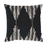 Waiden Black/Gray/Ivory Pillow (4/CS)