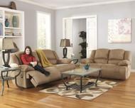 Hogan Mocha 2 Seat Reclining Sofa & Reclining Loveseat