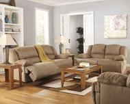 Hogan Mocha 2 Seat Reclining Sofa, Reclining Loveseat & Zero Wall Wide Seat Recliner