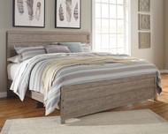 Culverbach Gray King Panel Bed