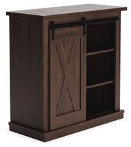 Camiburg Antique Brown Accent Cabinet