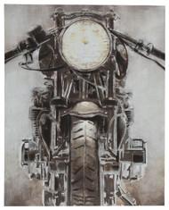 Jaimin Gray/White/Brown Wall Art