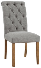 Harvina Gray Dining Upholstered Side Chair