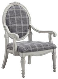 Kornelia Charcoal Accent Chair