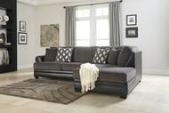 Kumasi Smoke Left Arm Facing Sofa, Right Arm Facing Corner Chaise Sectional