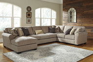 Pantomine Driftwood LAF Corner Chaise, Armless Sofa, Wedge, RAF Loveseat Sectional