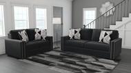 Gleston Onyx 2 Pc. Sofa, Loveseat