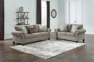 Shewsbury Pewter 2 Pc. Sofa, Loveseat