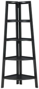 Bernmore Black Corner Shelf
