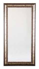 Dulal Antique Silver Finish Floort Mirror