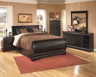 Huey Vineyard Black 7 Pc. Queen Bedroom Collection