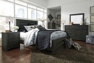 Brinxton Black 8 Pc.Queen Poster Bedroom Collection