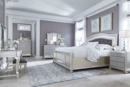 Coralayne Silver 11 Pc. California King Bedroom Collection