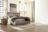Lakeleigh Brown 4 Pc. California King Panel Bedroom Collection