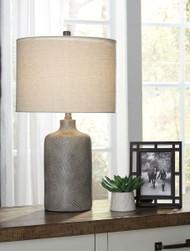 Linus Antique Black Ceramic Table Lamp (1/CN)