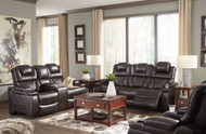 Warnerton Chocolate 3 Pc. Power Reclining Collection