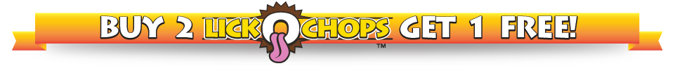 Buy 2 Lickochops 8oz Get 1 FREE