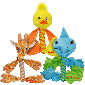 FLATHEADS™ Animals: Giraffe, Duck, Iguana