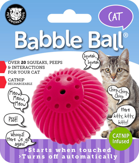 Cat Talking Babble Ball