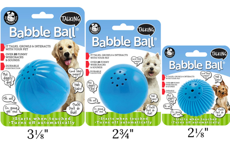 Talking Babble Ball