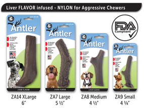 Nylon Liver Antlers - All 4 sizes