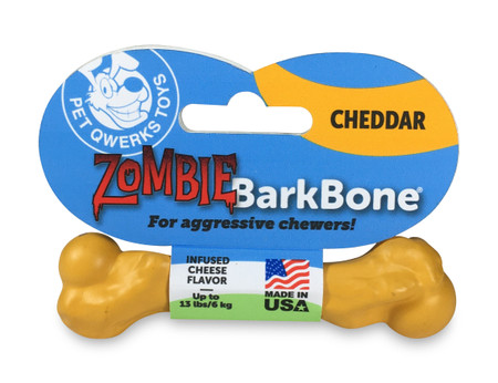 ZBB12: Small Zombie BarkBone® Cheddar Cheese