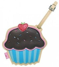 Chocolate Strawberry Cupcake Sprinkles Luggage Tag