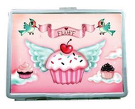 Cupcake Heaven Pink Business Card Case from Fluff