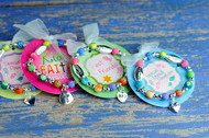 Little Girls Inspiration Bracelet for ages 3 - 6 Choose from Daughter, Granddaughter, Friendship and Faith