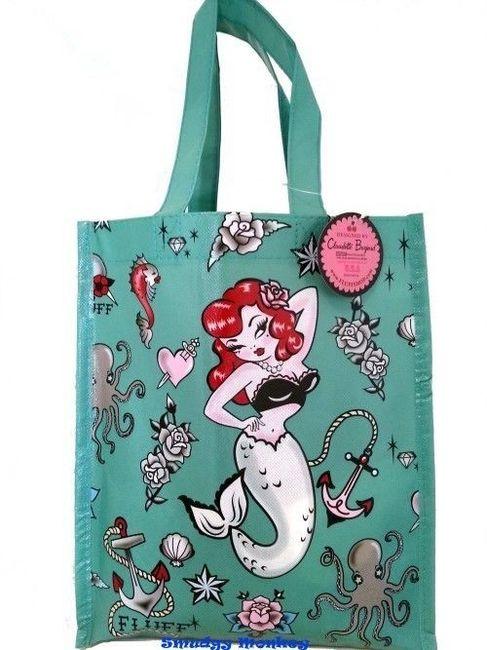 Molly Mermaid artwork is created by Los Angeles artist Claudette Barjoud