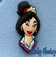 Disney's Princess Mulan Authentic Jibbitz Shoe Charm for Crocs