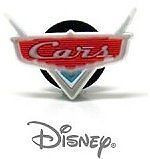 Disney Cars Logo Authentic JIBBITZ Crocs Shoe Charm Rare HTF New Gift Idea Sale