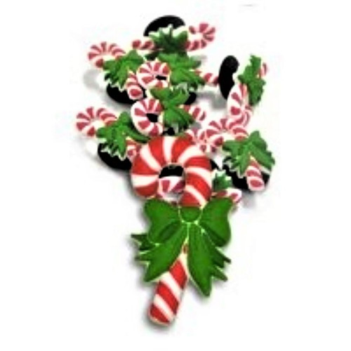 Candy Cane Jibbitz for your Crocs Shoes